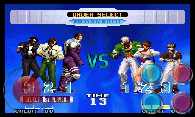 拳皇10周年纪念版游戏安卓版下载图片2