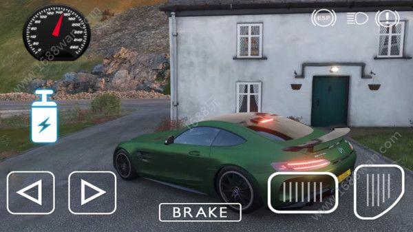 奔驰汽车驾驶模拟器