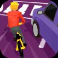 疯狂的自行车骑手