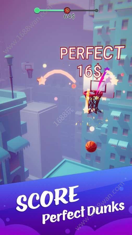 彩色灌篮3D游戏安卓版下载(Color Dunk 3D)图片1
