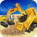 建造施工挖掘模拟